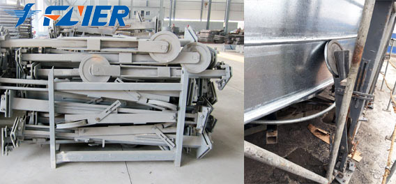Flyer Steel Silo Bearing Support