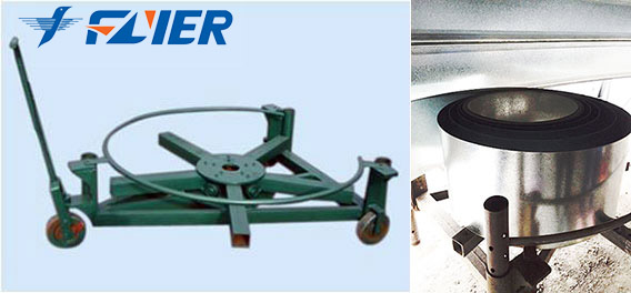 Flyer Silo Construction Decoiling Holder