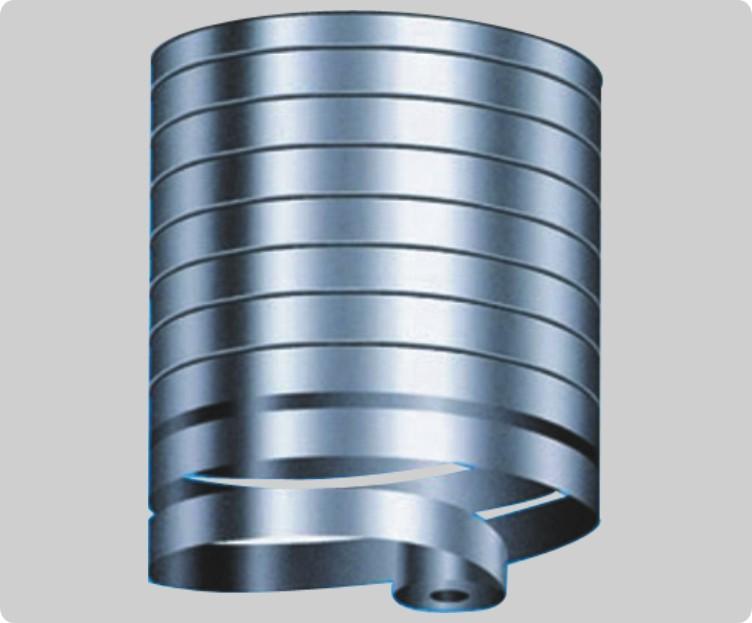 Flyer storage silo design