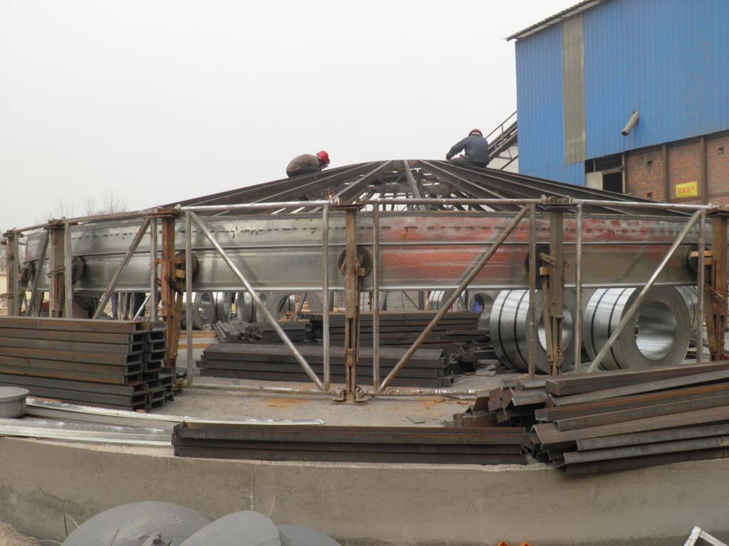 Storage Tank Roof Building