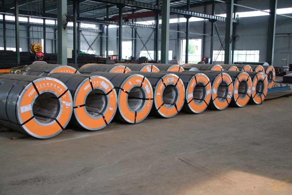 HBIS steel rolling strips