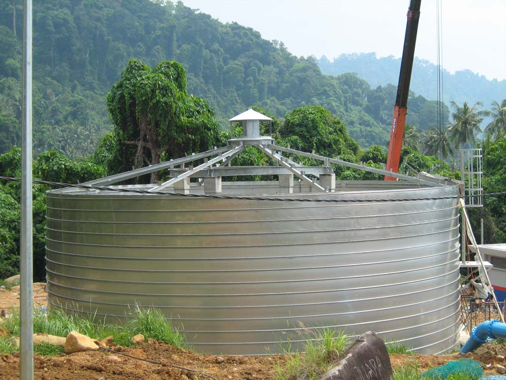 Wastewater Treatment Tank Roof