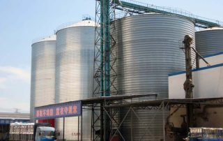 Flyer Steel Silo Grain Silos