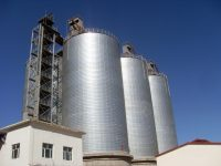 frac sand storage silo tanks