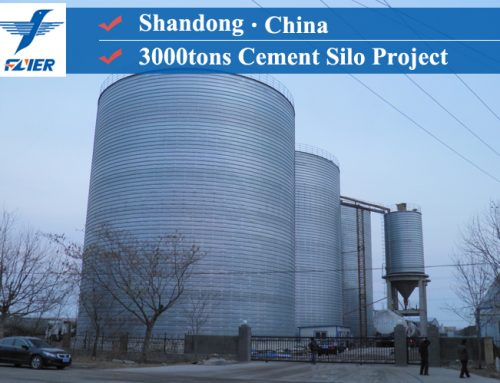 3000tons Cement Silo Project in Shangdong, China