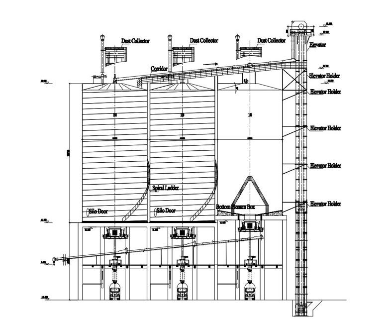 steel silo design