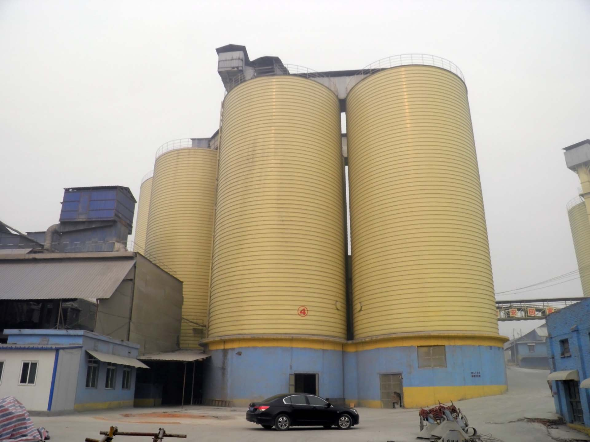 Cement Steel Silos The Best Container for Dry Bulk Cement Storage