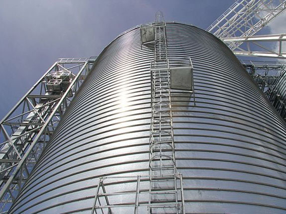 steel made cement silos