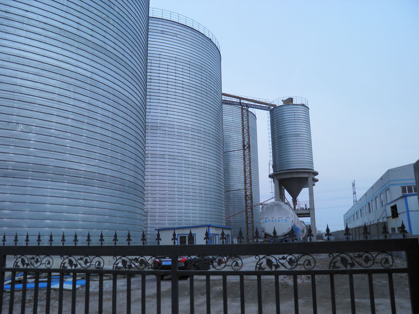 cement silo project