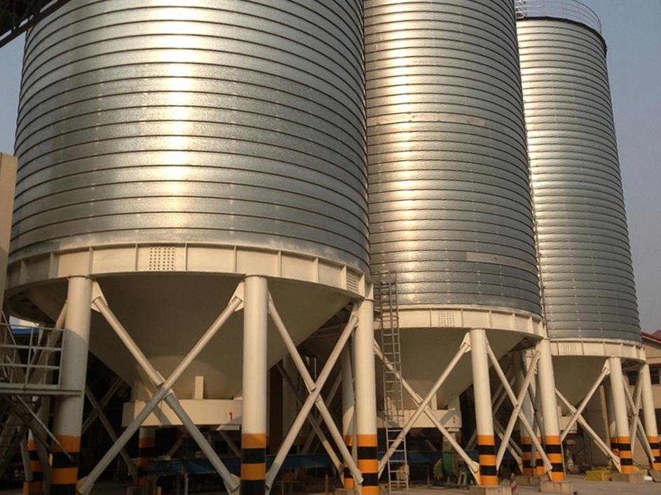 fly ash silos