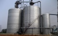 steel silo ventilation system